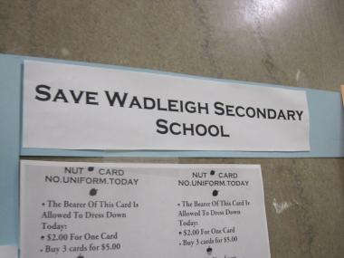 Parents, teachers and elected officials have mounted a campaign to stop the DOE from closing Wadleigh's middle school grades.