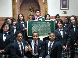 Queens Historian Leads Students on Quest for Prestigious Award