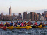 New Boathouse On Tap for Newtown Creek Kayakers