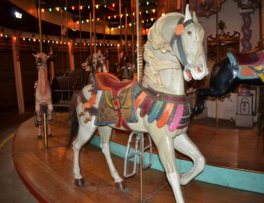 The Forest Park Carousel, which contains some of the last surviving creations of master woodcarver Daniel Muller, has been shuttered since 2008.