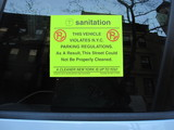 City Council Bans Alternate Side Parking Shame Stickers