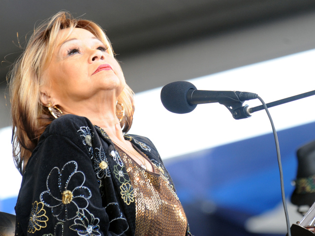 Etta James performed in New Orleans in 2009.