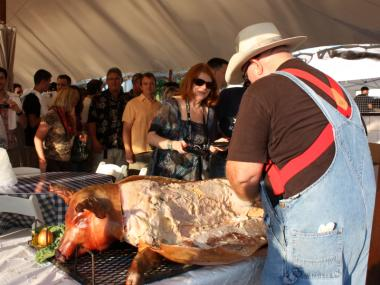 The festival will feature a dizzying and heart attack-inducing array of beer, bourbon and pork.