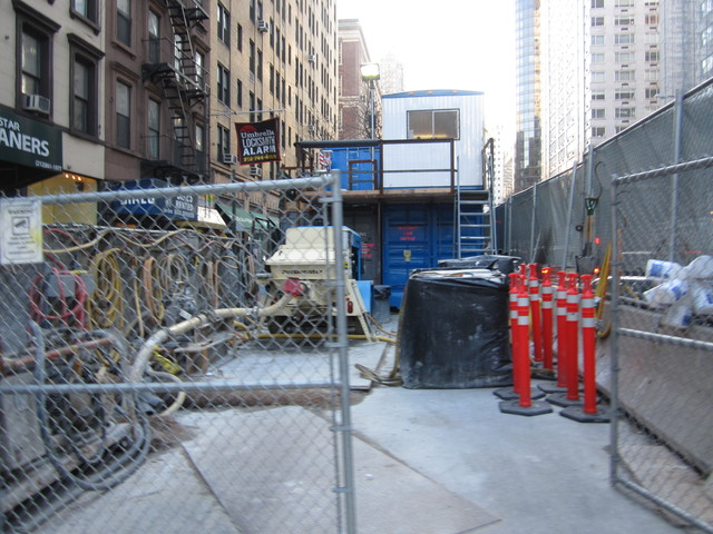 <p>A view of the Second Avenue subway construction site at East 69th Street.</p>