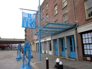 The South Street Seaport Musuem closed it's Fulton Street galleries on April 7, 2013.