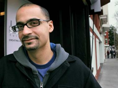 Pulitzer Prize-winning author Junot Diaz.