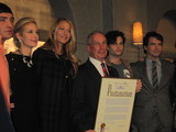 Mayor Bloomberg Hangs with 'Gossip Girl' Cast to Tout NYC-Based Productions