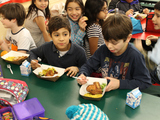 Food Program Puts Farm-Fresh Veggies Into P.S. 11's Cafeteria