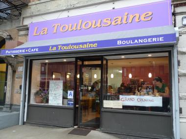 La Toulousaine Bakery, a French patisserie, opened in January 2012 at 942 Amsterdam Ave.