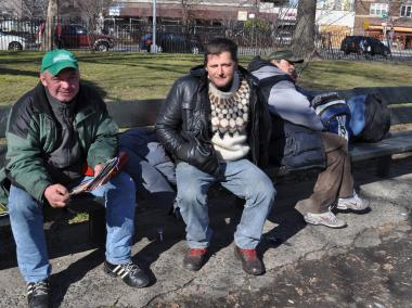 A local church will begin housing the men who sleep in local parks and on the streets.