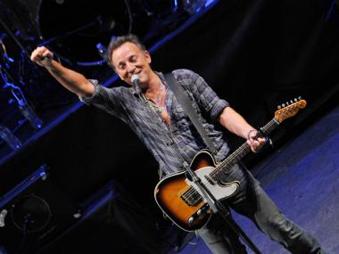 Bruce Springsteen performs during the 2012 Light of Day Concert Series 'New Jersey' at the Paramount Theatre on Jan. 14, 2012 in Asbury Park, N.J.