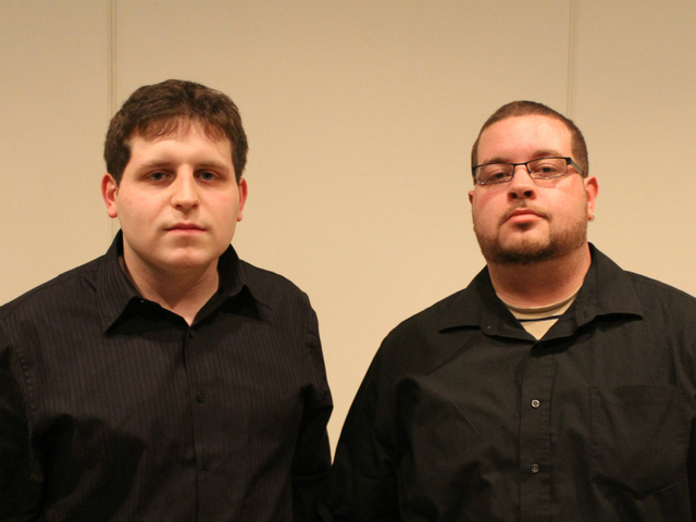 Frank and Maxwell Romero, the brothers of murder victim Brandom Romero.