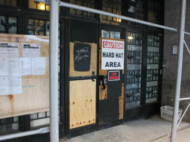 Kitchen Construction Begins Soon : Construction begins at empty hell s kitchen hospital