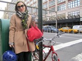 Cyclists Change the Face of Growing Hudson Square
