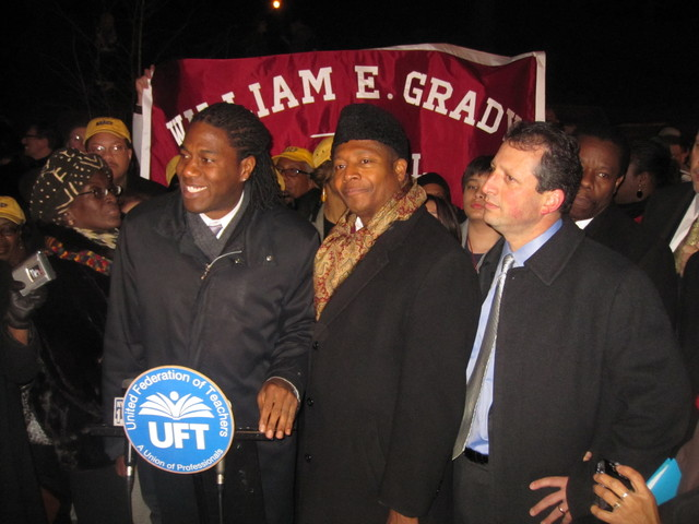 City Council members, include Brad Lander and Jumaane Williams, rallied against the closures ahead of the vote.