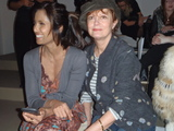 Susan Sarandon, Mary Kate Olsen and Padma Lakshmi Spotted At Fashion Week
