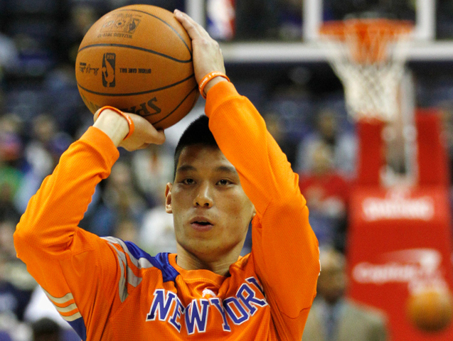 Jeremy Lin, the Knicks' standout point guard, led the team to three straight victories.