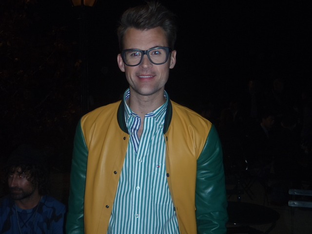 Star of 'It's A Brad Brad World', and former assistant to Rachel Zoe, Brad Goreski at Fashion Week.