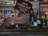 Thieves Steal City Truck and Crash Into UES Store, Injuring Four, Cops Say