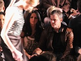 Matt Damon, Star Jones and Joan Rivers Seen at Fashion Week