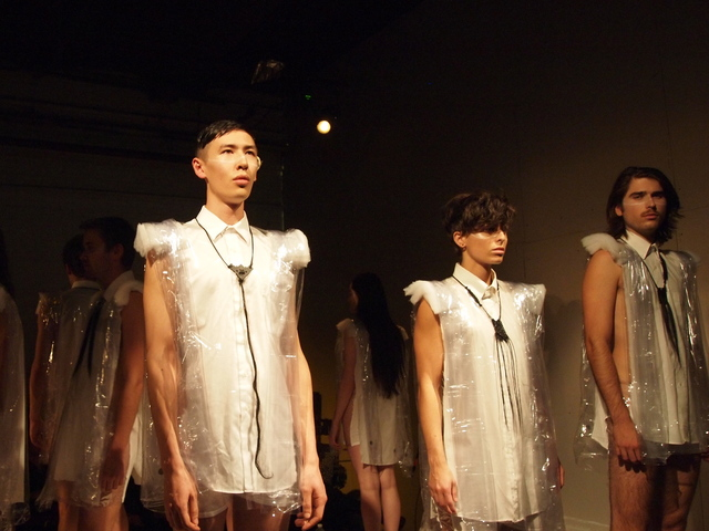 Hayden Dunham's designs were in a past event, often held at Glasslands Gallery.