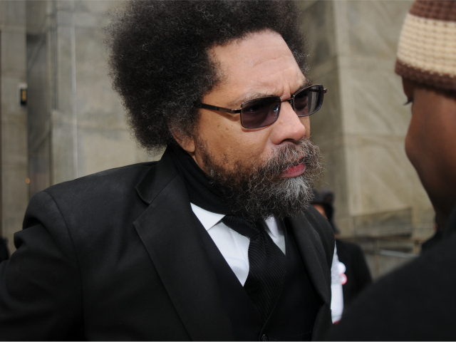 Cornel West met with fellow stop and frisk protesters outside the 100 Centre Street criminal courthouse where they appeared on disorderly conduct charges on Feb. 16, 2012.