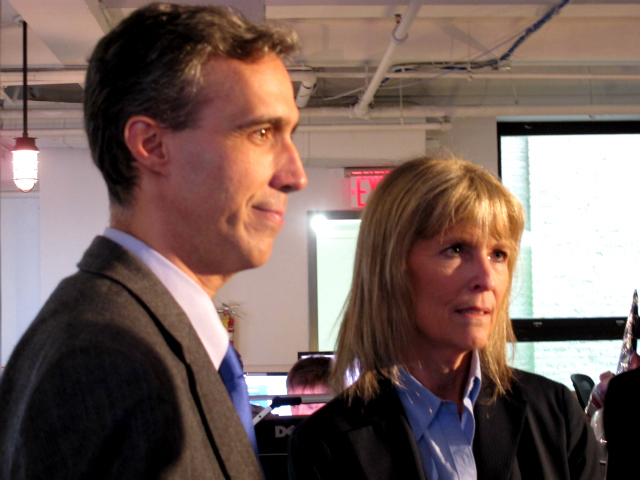 <p>Cornell Professors Daniel Huttenlocher, at left, and Cathy Dove will be part of the leadership team for the city&#39;s new technology campus on Roosevelt Island.</p>