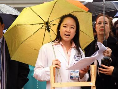 Dr. Michelle Lin, an ER doctor at Bellevue, said she has seen firsthand the devastating effects that can occur when workers don't have access to paid sick time.