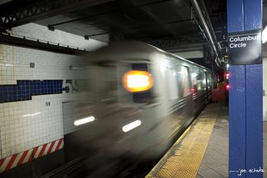 B, D, F and M train service along Sixth Avenue will be suspended overnight for maintenance.