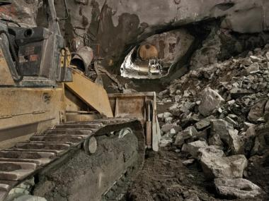 An image of the progress on the Second Avenue Subway tunnels and caverns as of Jan. 21, 2012.