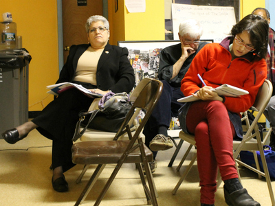 City Councilwoman Maria del Carmen Arroyo, who represents District 17, said members of the school community should express their concerns to the DOE.