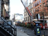 Fire Breaks Out on Orchard Street Next to Lower East Side Tenement Museum