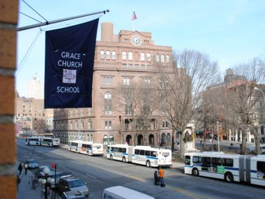The Grace Church School is expanding by adding a ninth-grade class in the fall of 2012.