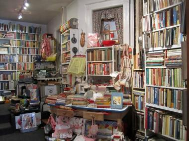 E-books can't rival the tactile pleasure real books provide, cookbook shop owner Bonnie Slotnick and her customers said in February 2012.