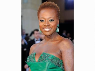 Actress Viola Davis arrives at the 84th Annual Academy Awards held at the Hollywood & Highland Center on February 26, 2012 in Hollywood, California.