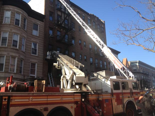 Firefighters Rescue Residents In Burning Prospect Heights Building Crown Heights Prospect