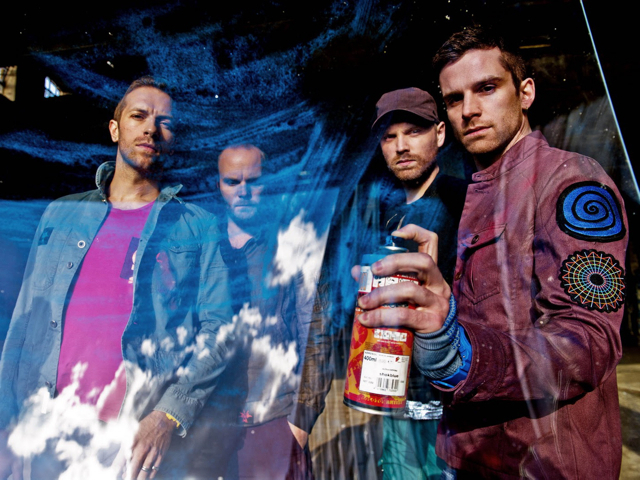Chart-topping bands Coldplay (pictured) and Mumford and Sons, plus many more, are appearing to celebrate Amnesty International's 50th anniversary at Radio City Music Hall this Sunday.