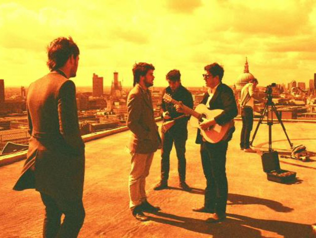 Chart-topping bands Coldplay and Mumford and Sons (pictured), plus many more, are appearing to celebrate Amnesty International's 50th anniversary at Radio City Music Hall this Sunday.