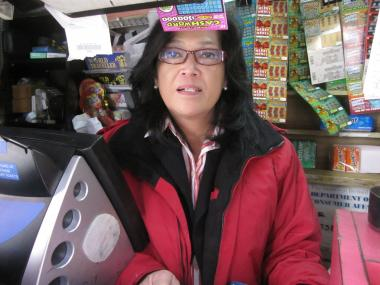 Marilyn Louie is trying to save her newsstand at 18 Bowery.