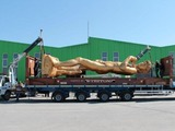 Giant Gold 'David' Statue Headed to NoLita