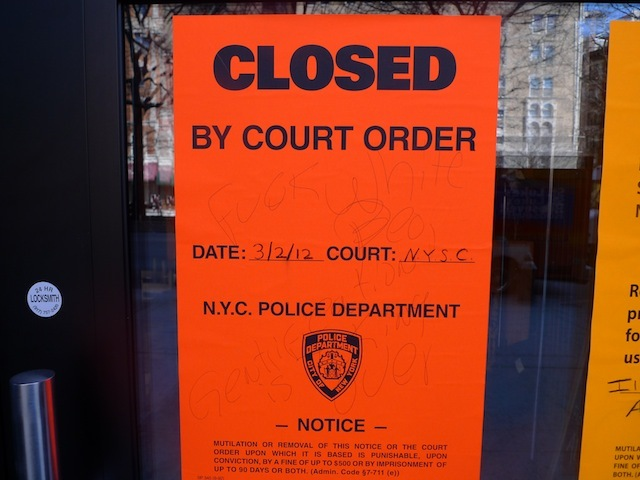 Cops closed Papasito's 2728 Broadway location on Friday, March 2.