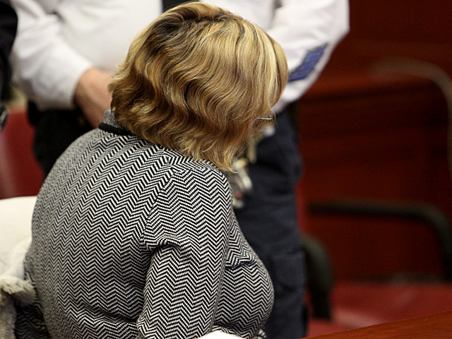 Anna Gristina, 44, appears in Manhattan Supreme Court on Mar. 6th , 2012.