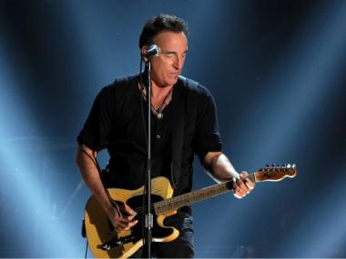Bruce Springsteen at the Grammy Awards on Feb. 12, 2012.