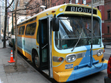Solar-Powered BioBus Wows Students at Times Square School