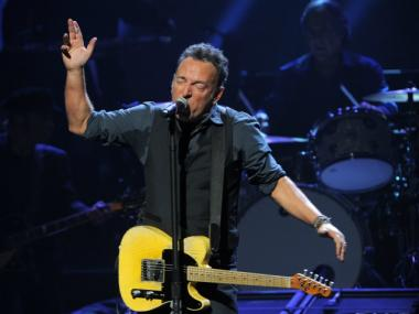 Bruce Springsteen and the E Street Band will be the opening act tonight at The Concert for Sandy Relief.