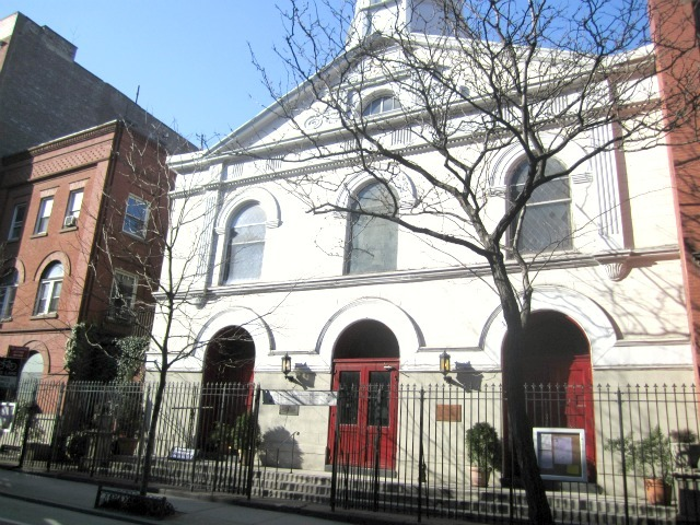 St. John's Lutheran Church on Christopher Street just west of Seventh Avenue South is planning to launch a Friday-night drop-in center for homeless, LGBT youth as early as summer 2012.