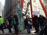 Occupy Wall Street Marks 6-Month Anniversary with Protest at Zuccotti Park