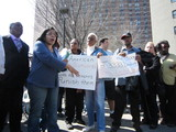 Harlem Tenants Protest Building ID Plan