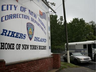 Two Rikers Island supervisors were found guilty of trying to cover-up a 2006 prisoner assault, May 14, 2012.