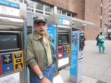 Rubin Rivera, a 68-year-old Vietnam veteran, said he was feeling dizzy last September on his way to the VA hospital when he got ticketed on the bus for not having a receipt — even though he had a bus transfer.